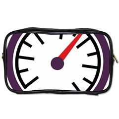 Maker Measurer Hours Time Speedometer Toiletries Bags 2 Side by Mariart