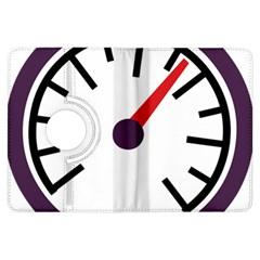 Maker Measurer Hours Time Speedometer Kindle Fire Hdx Flip 360 Case by Mariart