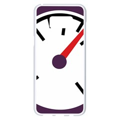Maker Measurer Hours Time Speedometer Samsung Galaxy S8 Plus White Seamless Case