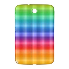 Plaid Rainbow Retina Green Purple Red Yellow Samsung Galaxy Note 8 0 N5100 Hardshell Case  by Mariart