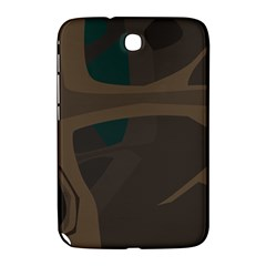 Tree Jungle Brown Green Samsung Galaxy Note 8 0 N5100 Hardshell Case  by Mariart