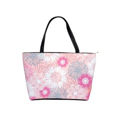Scrapbook Paper Iridoby Flower Floral Sunflower Rose Shoulder Handbags by Mariart