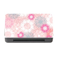 Scrapbook Paper Iridoby Flower Floral Sunflower Rose Memory Card Reader With Cf by Mariart