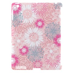 Scrapbook Paper Iridoby Flower Floral Sunflower Rose Apple Ipad 3/4 Hardshell Case (compatible With Smart Cover) by Mariart