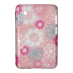 Scrapbook Paper Iridoby Flower Floral Sunflower Rose Samsung Galaxy Tab 2 (7 ) P3100 Hardshell Case  by Mariart