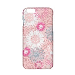 Scrapbook Paper Iridoby Flower Floral Sunflower Rose Apple Iphone 6/6s Hardshell Case by Mariart