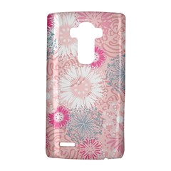 Scrapbook Paper Iridoby Flower Floral Sunflower Rose Lg G4 Hardshell Case by Mariart