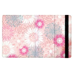 Scrapbook Paper Iridoby Flower Floral Sunflower Rose Apple Ipad Pro 9 7   Flip Case by Mariart