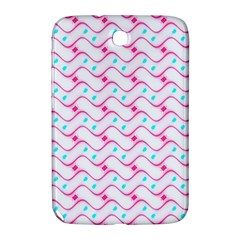 Squiggle Red Blue Milk Glass Waves Chevron Wave Pink Samsung Galaxy Note 8 0 N5100 Hardshell Case  by Mariart
