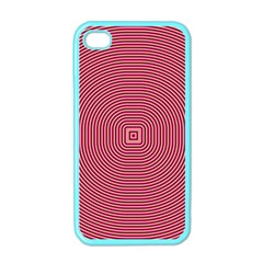 Stop Already Hipnotic Red Circle Apple Iphone 4 Case (color) by Mariart