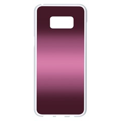 Decorative Pattern Samsung Galaxy S8 Plus White Seamless Case