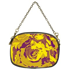 Abstract Art Chain Purses (one Side)  by ValentinaDesign