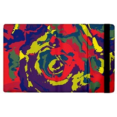 Abstract Art Apple Ipad 2 Flip Case by ValentinaDesign