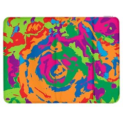 Abstract Art Samsung Galaxy Tab 7  P1000 Flip Case by ValentinaDesign