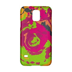 Abstract Art Samsung Galaxy S5 Hardshell Case  by ValentinaDesign