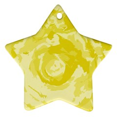Abstract Art Ornament (star) by ValentinaDesign
