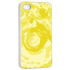 Abstract Art Apple Iphone 4/4s Seamless Case (white) by ValentinaDesign