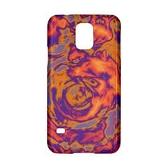 Abstract Art Samsung Galaxy S5 Hardshell Case  by ValentinaDesign