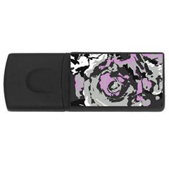 Abstract Art Usb Flash Drive Rectangular (4 Gb) by ValentinaDesign
