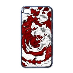 Abstract Art Apple Iphone 4 Case (black) by ValentinaDesign