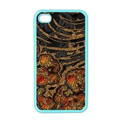 Unique Abstract Mix 1a Apple Iphone 4 Case (color) by MoreColorsinLife