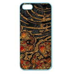 Unique Abstract Mix 1a Apple Seamless Iphone 5 Case (color) by MoreColorsinLife
