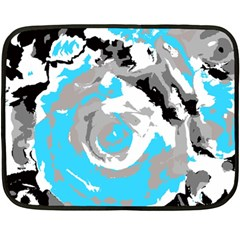 Abstract Art Double Sided Fleece Blanket (mini)
