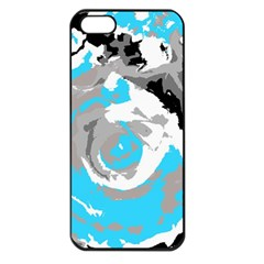 Abstract Art Apple Iphone 5 Seamless Case (black) by ValentinaDesign