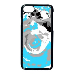 Abstract Art Apple Iphone 7 Seamless Case (black)