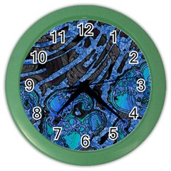 Unique Abstract Mix 1b Color Wall Clocks by MoreColorsinLife
