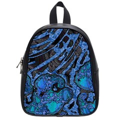 Unique Abstract Mix 1b School Bags (small)  by MoreColorsinLife