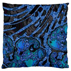 Unique Abstract Mix 1b Large Cushion Case (two Sides) by MoreColorsinLife