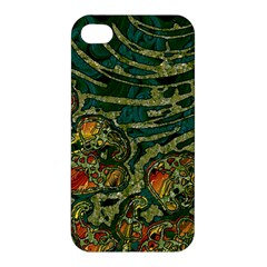 Unique Abstract Mix 1c Apple Iphone 4/4s Premium Hardshell Case by MoreColorsinLife