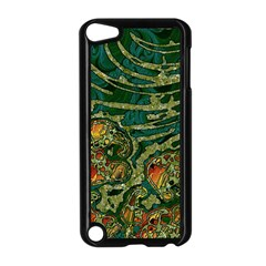 Unique Abstract Mix 1c Apple Ipod Touch 5 Case (black) by MoreColorsinLife