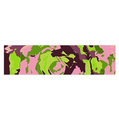 Abstract Art Satin Scarf (oblong) by ValentinaDesign