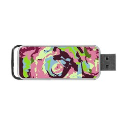 Abstract Art Portable Usb Flash (one Side) by ValentinaDesign