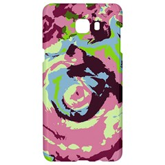 Abstract Art Samsung C9 Pro Hardshell Case  by ValentinaDesign