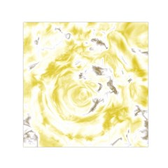 Abstract Art Small Satin Scarf (square) by ValentinaDesign