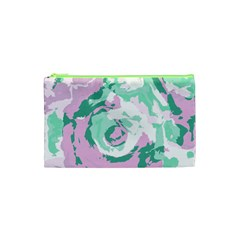Abstract Art Cosmetic Bag (xs) by ValentinaDesign