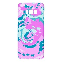 Abstract Art Samsung Galaxy S8 Plus Hardshell Case  by ValentinaDesign