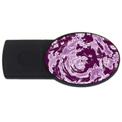 Abstract Art Usb Flash Drive Oval (4 Gb) by ValentinaDesign