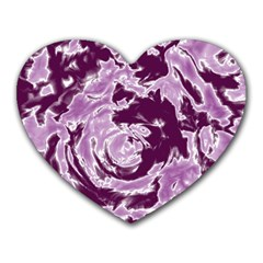 Abstract Art Heart Mousepads by ValentinaDesign