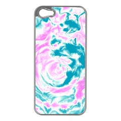 Abstract Art Apple Iphone 5 Case (silver) by ValentinaDesign