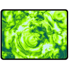 Abstract Art Fleece Blanket (large)  by ValentinaDesign