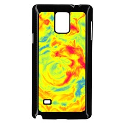 Abstract Art Samsung Galaxy Note 4 Case (black) by ValentinaDesign