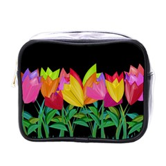 Tulips Mini Toiletries Bags by ValentinaDesign