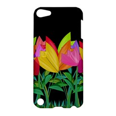 Tulips Apple Ipod Touch 5 Hardshell Case by ValentinaDesign