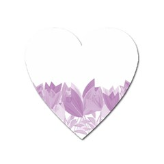 Tulips Heart Magnet by ValentinaDesign