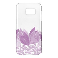 Tulips Samsung Galaxy S7 Edge Hardshell Case by ValentinaDesign
