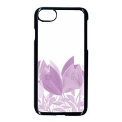 Tulips Apple Iphone 7 Seamless Case (black)
